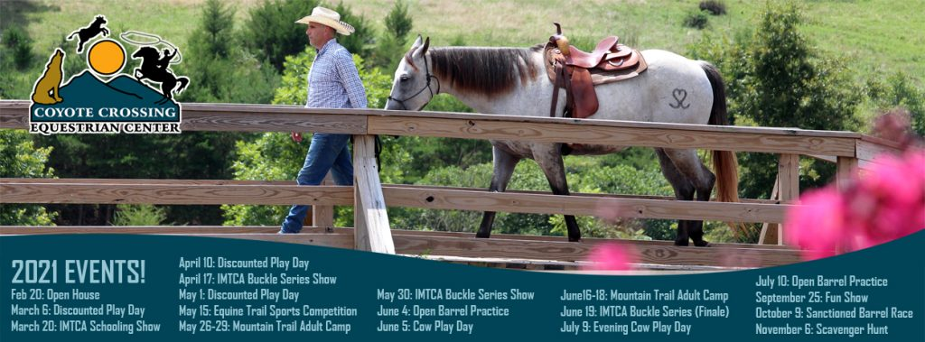 Coyote Crossing Equestrian Center 2021 Calendar