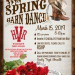 Von Holten Ranch Barn Dance Poster