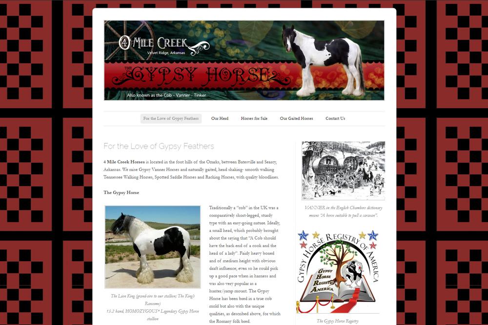 4 Mile Creek Gypsy Horses