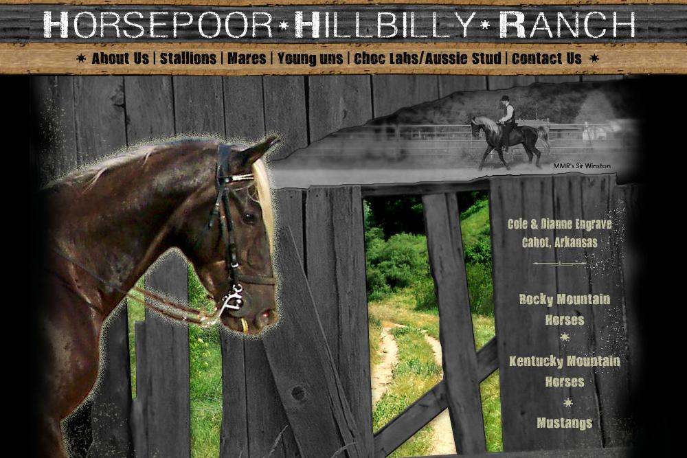 Horse Poor Hillbilly Ranch