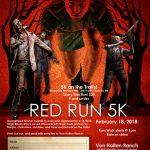 Von Holten Ranch 5K Run Poster