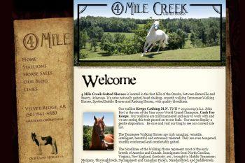 4 Mile Creek Gaited Horses
