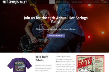 The Hot Springs Motorcycle Rally